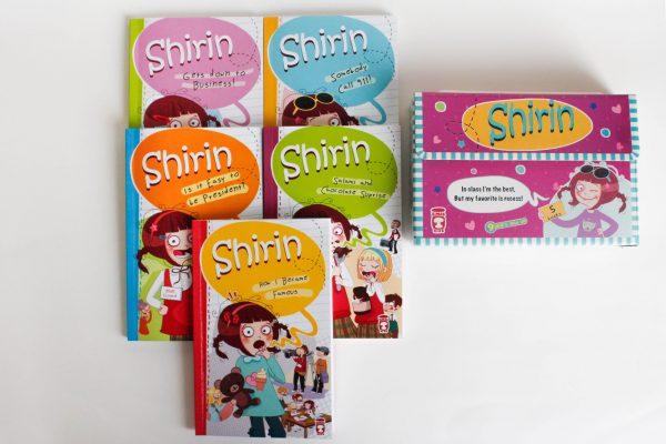 Shirin - SET (5 BOOKS)