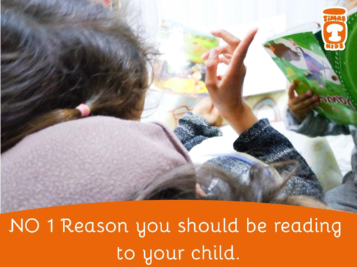 No 1 Reason You Should Be Reading To Your Child
